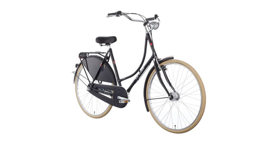 Ortler Van Dyck - Bicicleta holandesa - negro